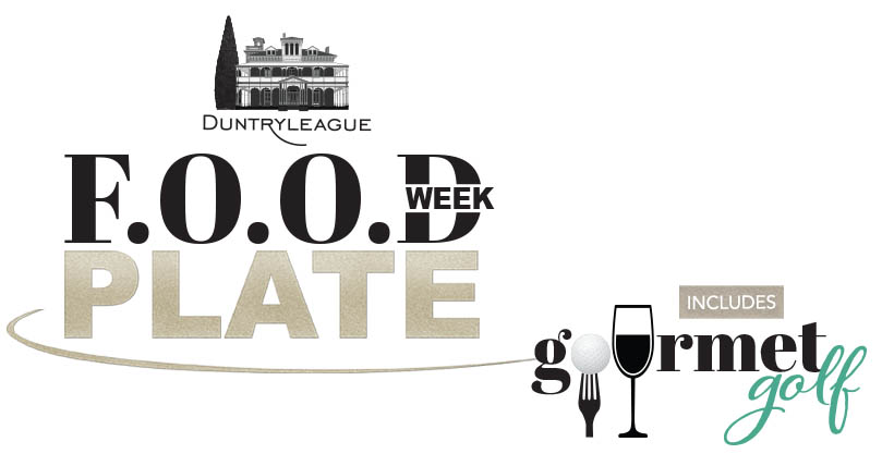 Duntryleague F.O.O.D Week Plate