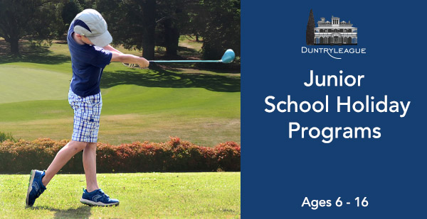 duntryleague junior school holiday program