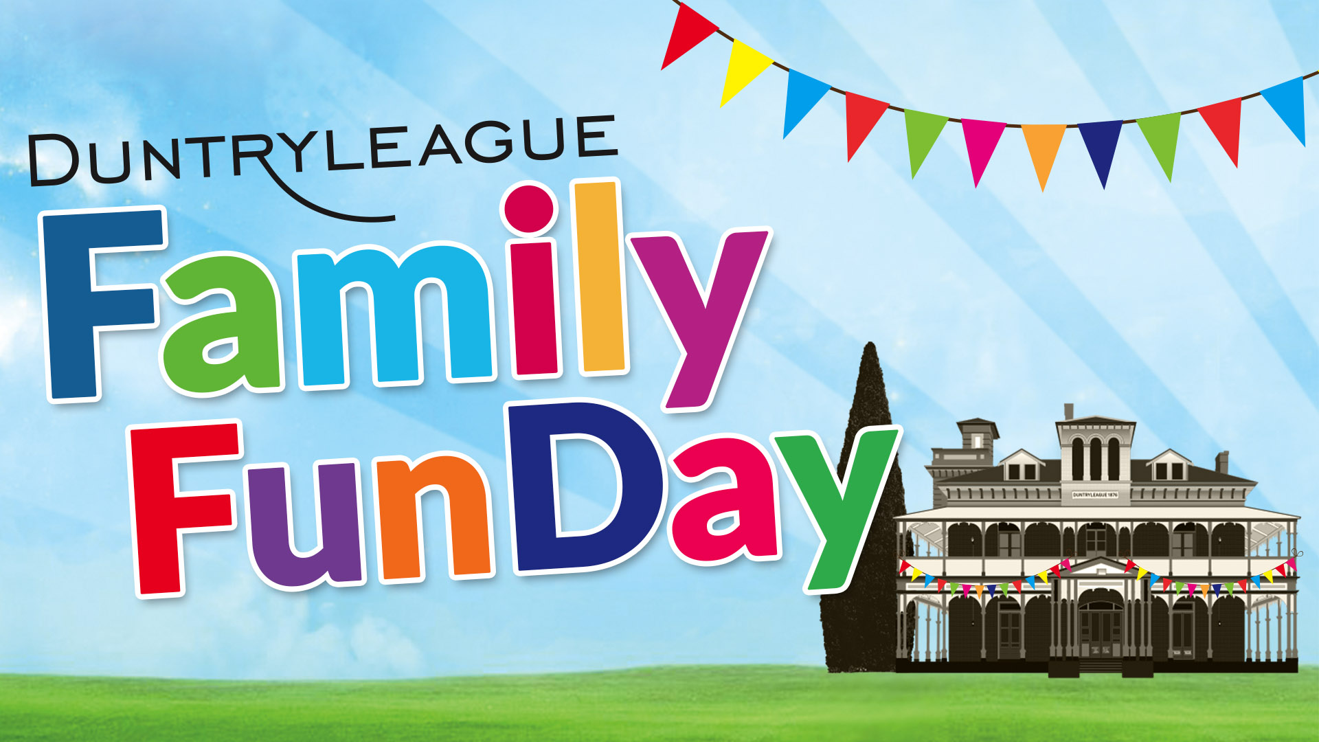 family fun day at Duntryleague