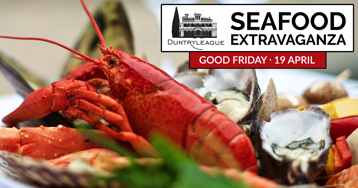 Seafood Extravaganza – Good Friday
